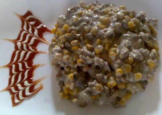 طرز تهیه ذرت مکزیک با قارچ و پنیر به همراه نکات طلایی