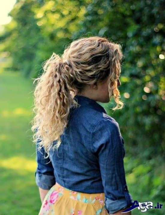 مدل موی دم اسبی فر