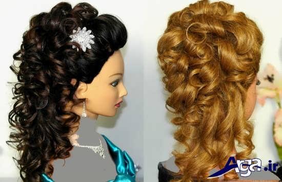 آرایش مدل های موی فر