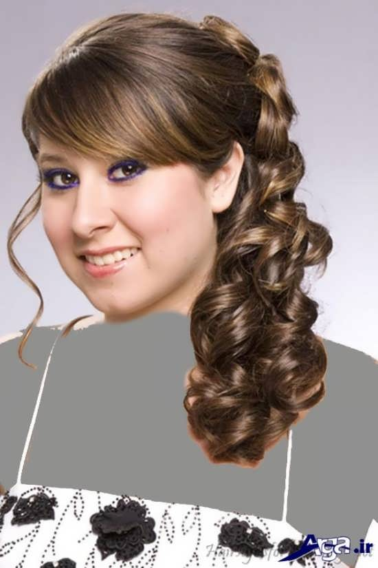 مدل موی دخترانه زیبای فر