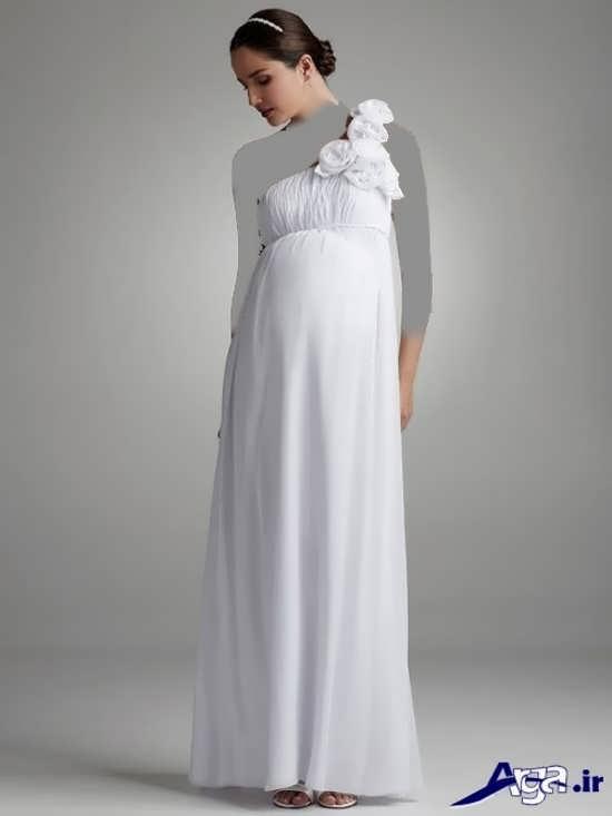 مدل پیراهن دکلته بارداری
