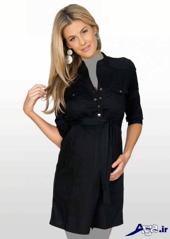 مدل پیراهن بارداری ساده