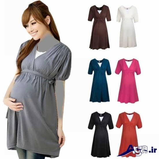 تنوع رنگ در مدل های پیراهن بارداری