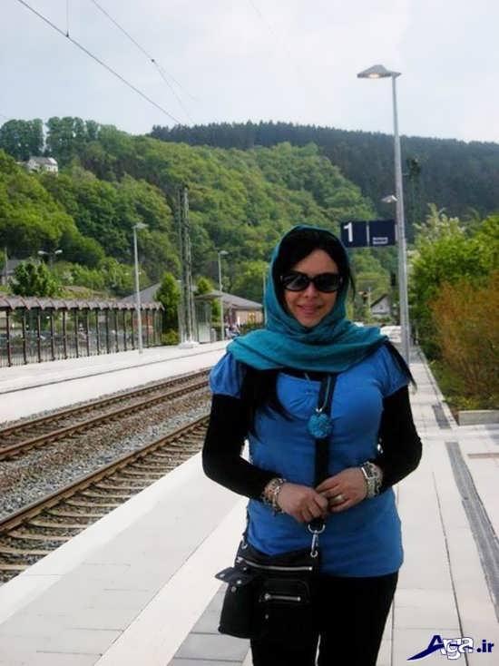 حجاب بازیگر زن ایرانی در آلمان