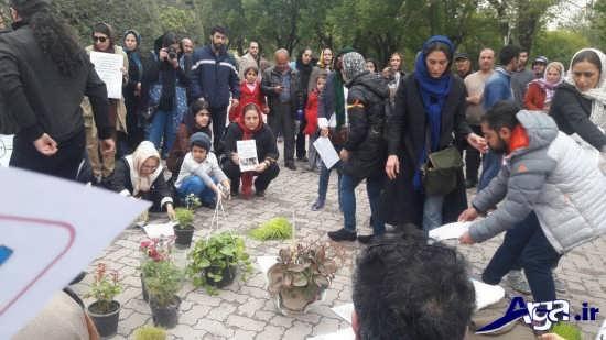 بازداشت هدیه تهرانی