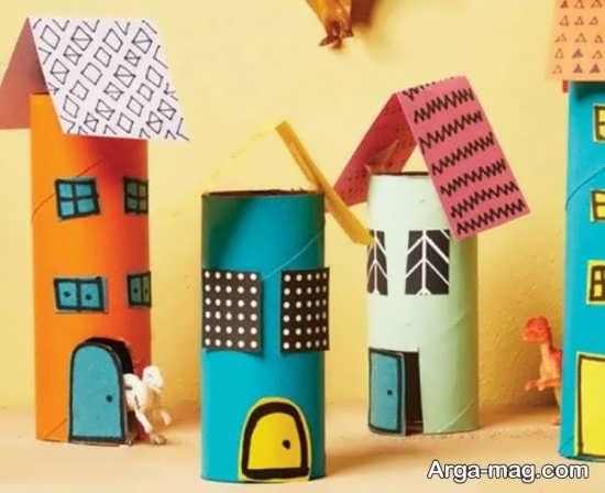 ساخت مدلی از ماکت خانه