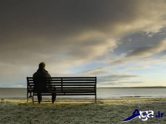 عکس های عاشقانه تنهایی مرد