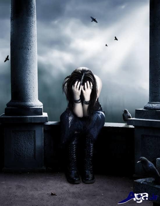 عکس های زیبای تنهایی دختر معصوم