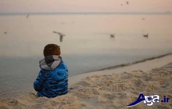 عکس های تنهایی پسر بچه