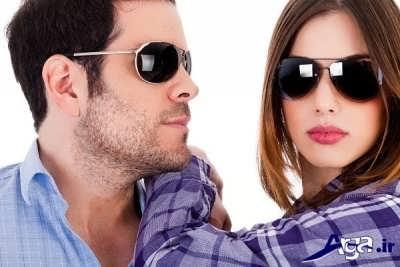 استفاده از عینک آفتابی برای کوچک تر کردن بینی