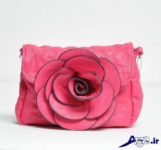 مدل کیف مجلسی دخترانه گلدار