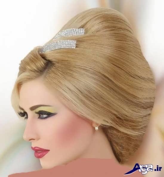 مدل مو و آرایش صورت زیبا برای عروس