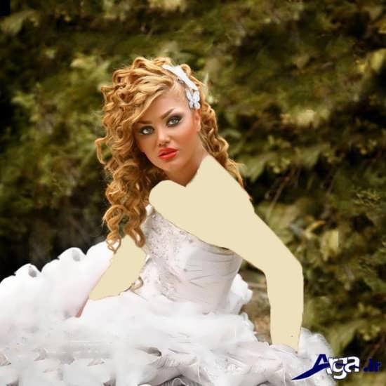 مدل میکاپ و شینیون فوق العاده برای عروس ایرانی