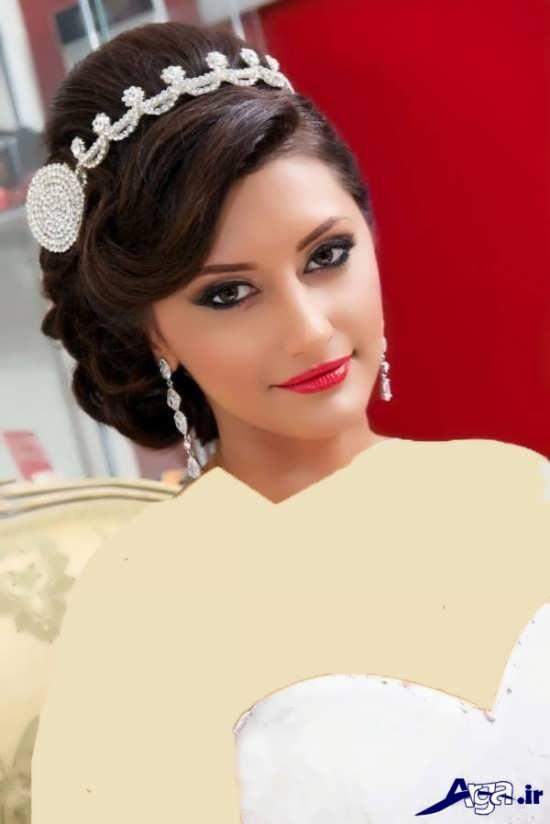 مدل های متنوع آرایش صورت و آرایش مو عروس