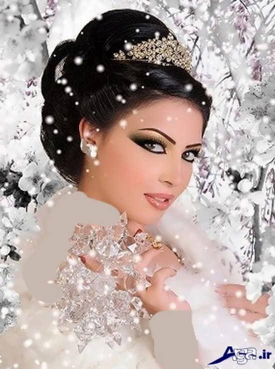 مدل زیبا و شیک آرایش عروس