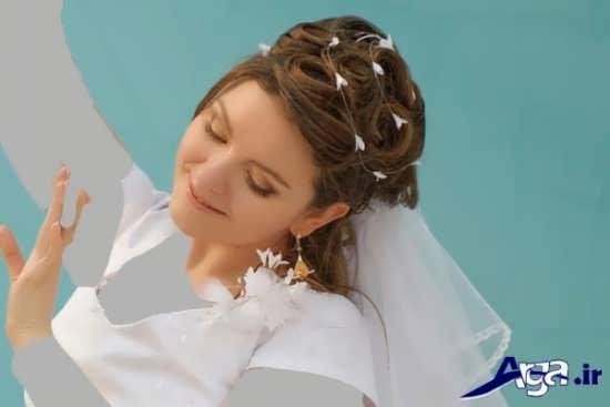 مدل مو و آرایش زیبا عروس