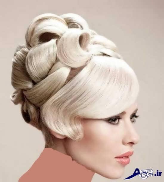 مدل شینیون زیبا و جذاب