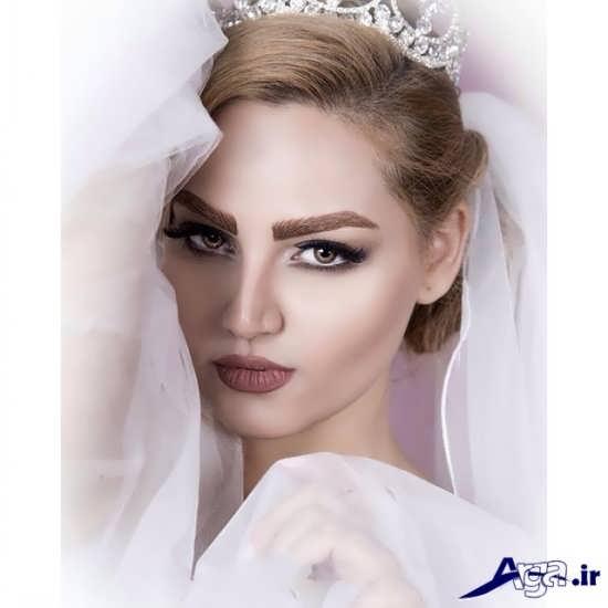 مدل های جدید مو و آرایش صورت عروس