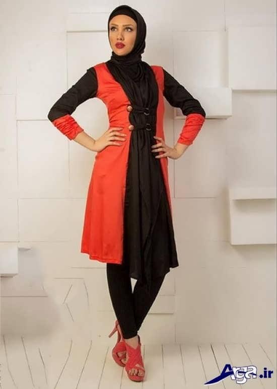 مدل مانتو سارافونی مجلسی 2016