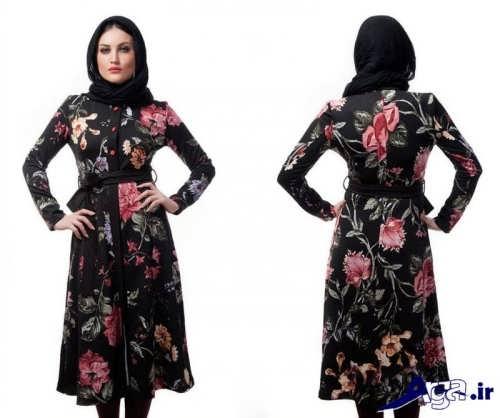 مدل مانتو زنانه با طرح گل دار ویژه تابستان