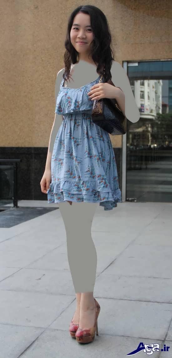 مدل پیراهن ساده کوتاه