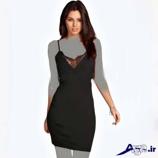 مدل پیراهن زنانه گیپور کوتاه