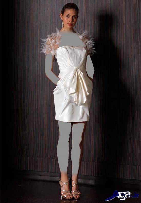 مدل پیراهن سفید دخترانه