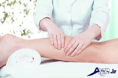 ماساژ برای درمان گرفتگی عضله ها