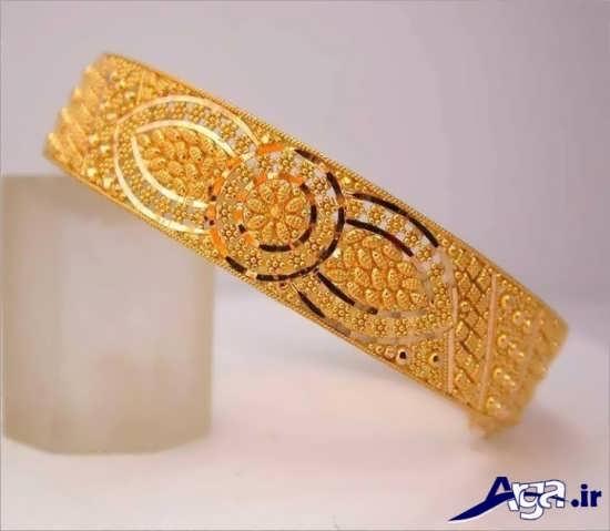 مدل النگو طلا چهن زیبا و جدید