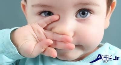 گرفتگی بینی نوزادان