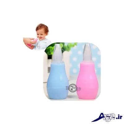 علل و درمان گرفتگی بینی در نوزادان