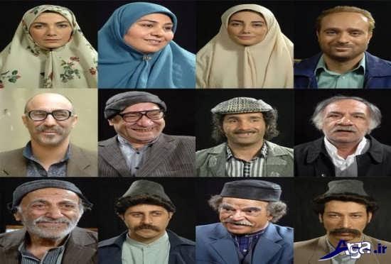 گرسم جدید بازیگران سریال علی البدل