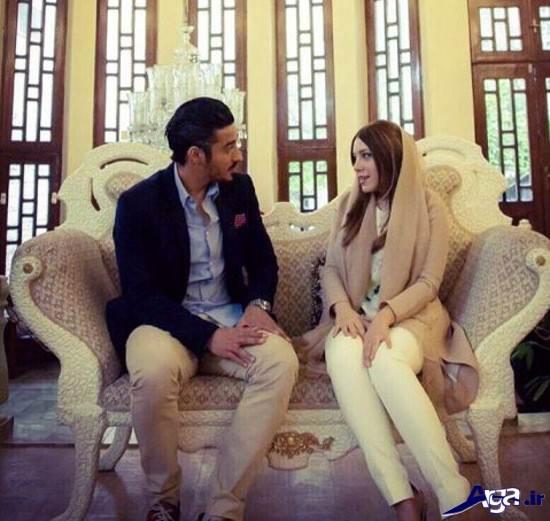 عکس سروین بیات همسر رضا قوچان نژاد
