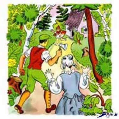 داستان کودکانه شنل قرمزی
