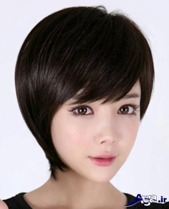 مدل مو کوتاه دخترانه شیک
