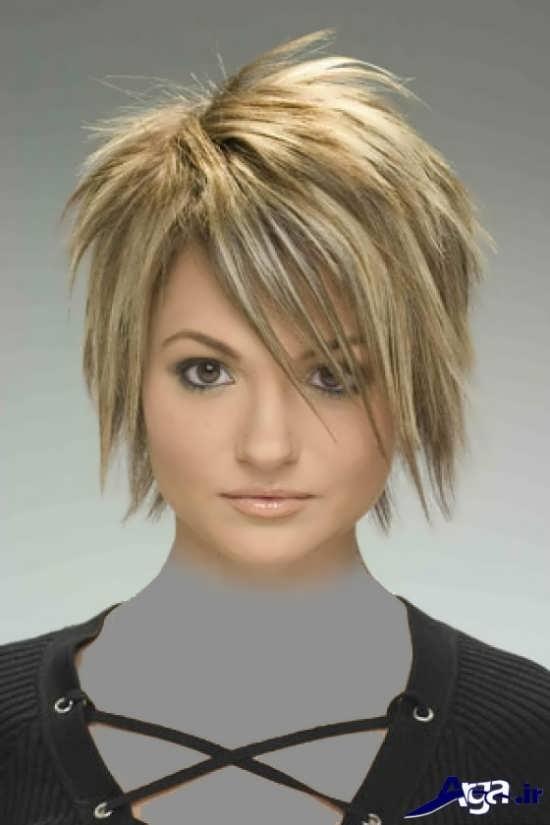 مدل مو کوتاه دخترانه خرد
