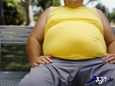 علت های تنگی نفس و چاقی