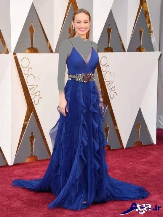 مدل لباس آبی عقد