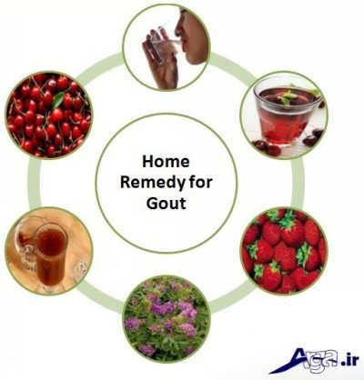 درمان خانگی نقرس