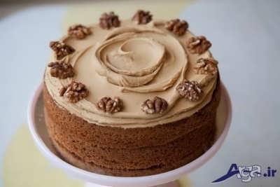 کیک گردویی خوشمزه