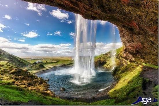 عکس آبشار شگفت انگیز