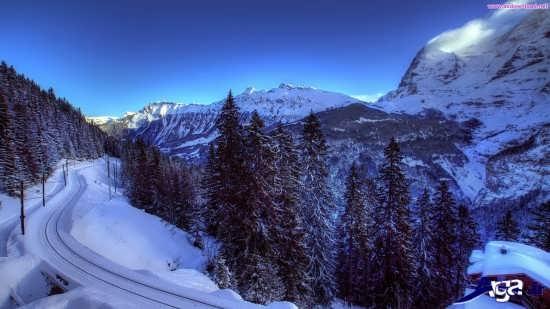 عکس کوهستان شگفت انگیز