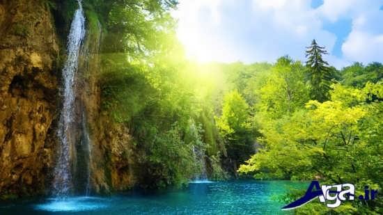 تصاویر جذاب و زیبا از طبیعت سر سبز