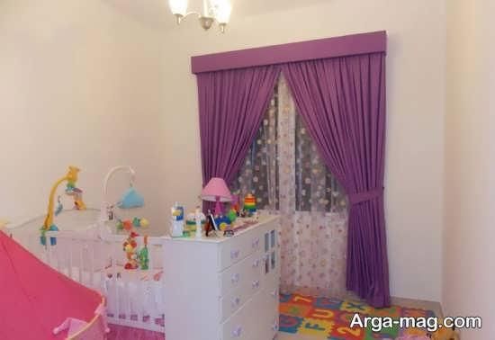 مدلهای پرده اتاق نوزادان