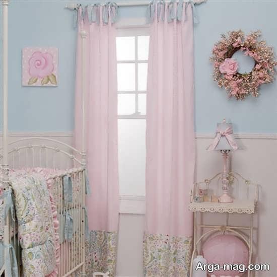 مدل پرده اتاق نوزادان