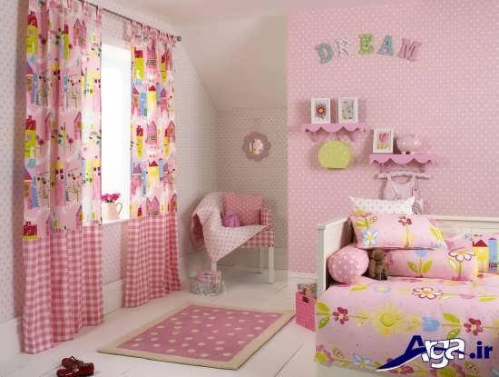 دکوراسیون صورتی برای اتاق نوزاد