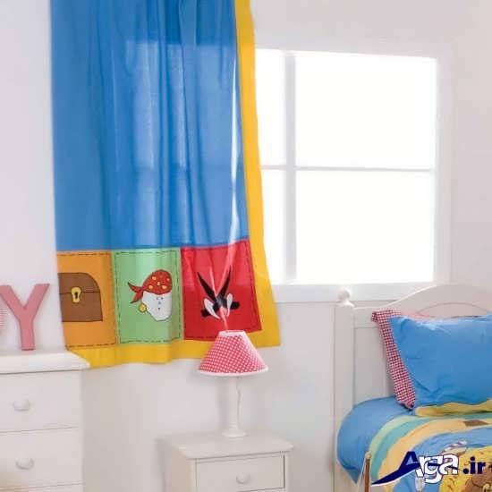 مدل پرده برای اتاق نوزاد پسر
