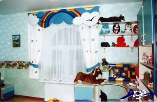 مدل های پرده برای اتاق نوزاد