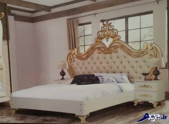 تخت خواب سلطنتی عروس