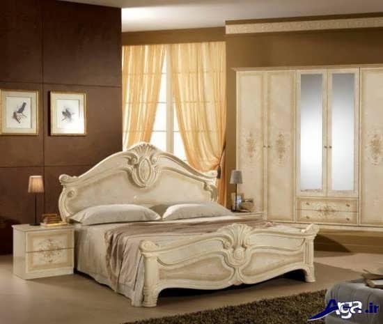 تخت خواب جدید و زیبا
